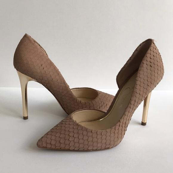 "4e0f60633f Jessica Simpson Shoes - Jessica Simpson ""Lucina"" Heels in Dusty Mauve"